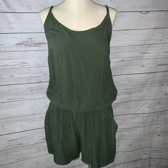 Splendid Pants - Splendid Army Green Romper